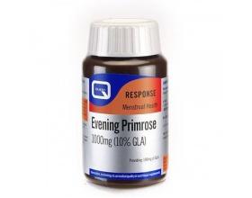 QUEST Evening Primrose 1000mg, Συμπλήρωμα Διατροφής απο Λάδι Νυχτολούλουδου που βοηθά στη ρύθμιση των ορμονών και του εμμηνορροϊκού κύκλου και είναι πολύ αποτελεσματικό στη μετρίαση των συμπτωμάτων του προεμμηνορροϊκού συνδρόμου 30 κάψουλες