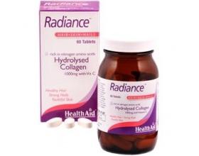 Health Aid Radiance Hydrolysed Collagen with Vit.C Υδρογολυμένο Κολλαγόνο 1000mg με Βιταμίνη C , 60 ταμπλέτες