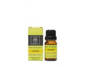 Apivita Essential Oils Refresh Μίγμα αιθερίων ελαίων με γκρέιπφρουτ , περγαμόντο & λεμόνι 10 ml