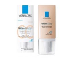 La Roche Posay Rosaliac CC Creme SPF 30,  : Κρέμα για την καθημερινή φροντίδα που καλύπτει & διορθώνει όλες τις κοκκινίλες, με φυσική απόχρωση που προσαρμόζεται στην χροια του δέρματος, 50ml