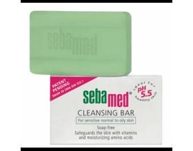SEBAMED Cleansing Bar Μπάρα χωρίς σαπούνι & αλκάλια για λιπαρή επιδερμίδα 100γρ