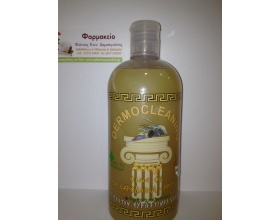 DERMOCLEANING Soap Φυτικό Σαπούνι από ελαιόλαδο ιδανικό για ερεθισμένο δέρμα  ουδέτερο ph 320 ml