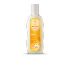 WELEDA Shampoo reconstruction oats Reduces hair breakage for dry and damaged hair 190ml