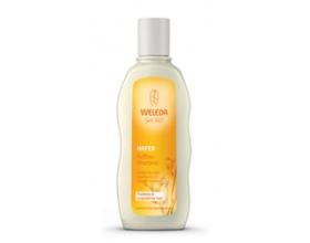 WELEDA Σαμπουάν αναδόμησης με βρώμη Μειώνει το σπάσιμο της τρίχας για ξηρά και ταλαιπωρημένα μαλλιά 190ml