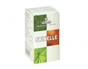 Charak Skinelle Ακμή αντιβακτηριδιακές και αντιφλεγμονώδεις ιδιότητές του καταπολεμά τις δερματικές μολύνσεις και την ακμή 50 ταμπλέτες