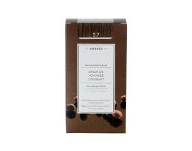 KORRES 5.7 Βαφή Μαλλιών με Έλαιο Argan & φυτική Κερατίνη, ΣΟΚΟΛΑΤΙ 50ml