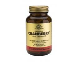 Solgar Cranberry  with vit. C για υγιές ουροποιητικό 60 κάψουλες