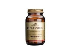 Solgar Potassium Gluconate 99mg Κάλιο, Εξισορροπεί τα επίπεδα των υγρών του σώματος,Συμβάλλει στη ρύθμιση της πίεσης του αίματος & των επιπέδων νατρίου στον οργανισμό, στη σωστή συσταλτικότητα της καρδιάς και των μυών, 100tabs