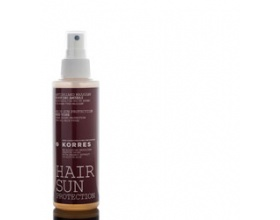 Korres Red Vine Hair Sun Protection for protection suitable for all hair types 150ml