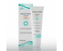 SYNCHROLINE Aknicare Cream Teintee Dore Λεπτόρρευστη κρέμα προσώπου με χρώμα που καταπολεμά την ακμή ενώ ταυτόχρονα καλύπτει τις ατέλειες 50ml