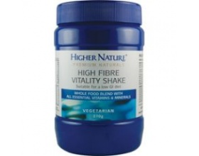 Higher Nature GOLDEN HIGH FIBRE VITALITY SHAKE 270gr