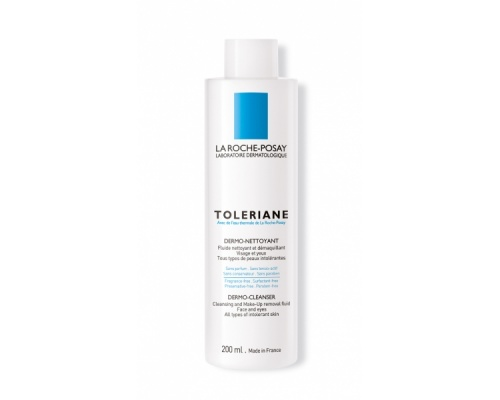 La Roche Posay Toleriane Dermo-Nettoyant, Γαλάκτωμα καθαρισμού για ευαίσθητη επιδερμίδα 200ml