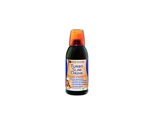 Forte Pharma Laboratoires Turbo Slim Drink Συμπλήρωμα διατροφής αποτοξινωτικό - αδυνατιστικό με γεύση Ροδάκινο 500ml
