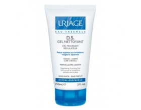 Uriage D.S. Gel Nettoyant, Ήπιο gel καθαρισμού για πρόσωπο και σὡμα.150ml