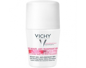 Vichy Ideal Finish Deo 48h Deodorant 50ml, Αποσμητικο 48ωρης δράσης κατα της εφίδρωσης, λειαίνει τη επιδερμίδα και αραιώνει το χρονο μεταξύ των ξυρισμάτων