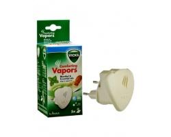VICKS Comforting Vapors Συσκευή που απελευθερώνει το άρωμα Vicks + 5 Vicks ανταλλακτικές ταμπλέτες