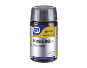 QUEST Bιταμίνη E 1000i.u. συμπλήρωμα διατροφής 30 κάψουλες