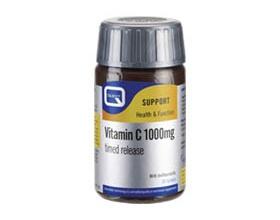 QUEST Βιταμίνη C Βραδείας αποδέσμευσης 1000mg, 30 ταμπλέτες
