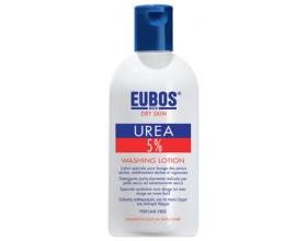 Eubos 5% Urea Wash Lotion Υγρό σαπούνι για ξηρό δέρμα χωρίς άρωμα 200ml