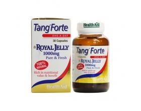 Health Aid Tang Forte Royal Jelly 1000mg, Αγνός Βασιλικός πολτός πλούσιος σε θρεπτικά συστατικά,30tabs
