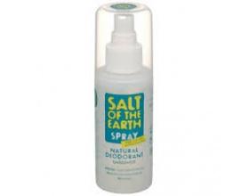 Salt of the Earth, Crystal Spring DEODORANT Spray, Φυσικό Αποσμητικό σε μορφή Spray, από κρύσταλλο Ιμαλαΐων, 100ML