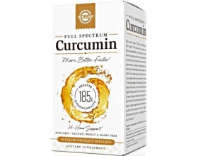 Solgar Full Spectrum Curcumin Συμπλήρωμα Διατροφής με Κουρκουμά, συμβάλει στην Καλή Λειτουργία του Πεπτικού Συστήματος, στη Σωστή Λειτουργία των Αρθρώσεων & στην Πνευματική Διαύγεια 30 softgels
