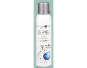 Hydrovit Sun Mousse Medium Protection Mousse SPF20 Αντηλιακό Σπρέι σε μορφή Mousse, 150 ml