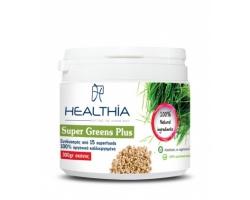 Healthia Super Greens Plus συνδυασμός από 100% οργανικά superfood σκόνης 300g