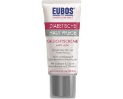 Eubos Diabetic Skin Care Face Cream Anti Age 50ml, Κρέμα προσώπου εντατικής φροντίδας με ειδικά συστατικά προσαρμοσμένα στις ανάγκες του διαβητικού δέρματος