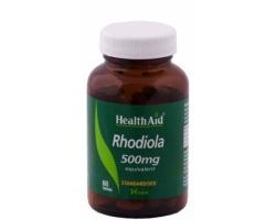 Health Aid Rhodiola 500mg 60 tabs, Αυξάνει την αντοχή και τη δύναμη του οργανισμού, ενισχύει τη μνήμη & βοηθάει στην πρόληψη της κατάθλιψης