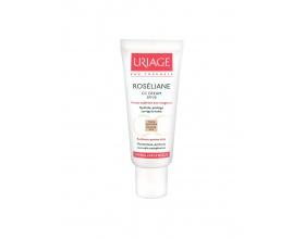 Uriage CC Cream Roseliane SPF30 40 ml, Ενυδατική Κρέμα Προσώπου με χρώμα για την Εξισορρόπιση της Ερυθρότητας