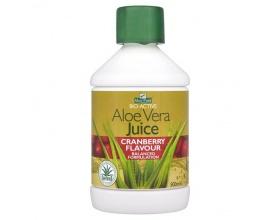 Optima Aloe Vera Juice with Cranberry 500ml, Συμβάλλει στην καλή λειτουργία και στη διατήρηση ενός υγιούς πεπτικού συστήματος, πλούσιος σε πολυσακχαρίτες