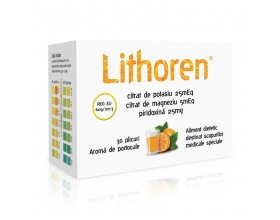 Meditrina Ltd, Lithoren, Διαιτητικό Τρόφιμο Είδικου Ιατρικού Σκοπού, Γεύση Πορτοκάλι, 30 Φακελίσκοι