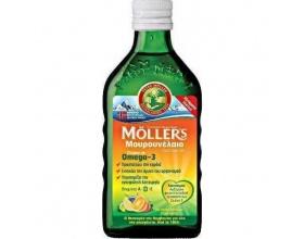 Nature's Plus Moller's, Παραδοσιακό Μουρουνέλαιο σε Υγρή Μορφή με Γεύση Φρούτων, 250ml
