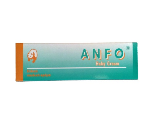Uniderm Anfo Baby Cream, Προστατευτική, αντιφλογιστική και ενυδατική δράση στην καθημερινή περιποίηση βρεφών και παιδιών, 100ml