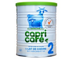 Capricare, Γάλα 2ης Βρεφικής Ηλικίας απο τον 6ο Μήνα απο Πλήρες Κατσικίσιο Γάλα, 400g
