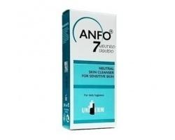 Uniderm ANFO 7 Neutro Liquido, Ουδέτερο Δερμοκαθαριστικό για Ευαίσθητα Δέρματα με αντιφλογιστική και μαλακτική δράση 200ml