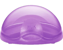 NUK Soother Box, Θήκη Πιπίλας, Μόβ Χρώμα