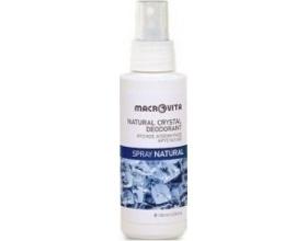 Macrovita Φυσικός Αποσμητικός Κρύσταλλος Spray με Φυσικό Άρωμα Natural 100gr