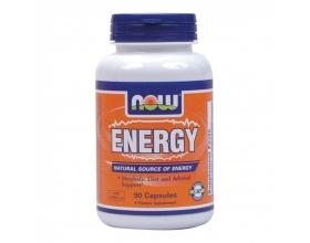Now Foods Energy Ephedra Free, Συμπλήρωμα διατροφής απο Φυσικά Συστατικά, για Ενέργεια, Αποτοξίνωση, Ενίσχυση Ανοσοποιητικού και Υποστήριξη των Επινεφριδίων, 90caps