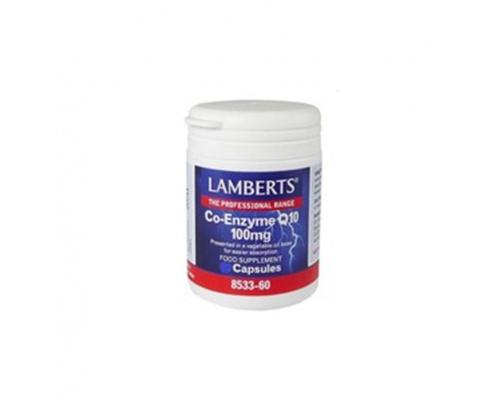 LAMBERTS CO-ENZYME Q10 100MG, 30 caps