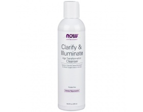 Now Foods Clarify & Illuminate Cleanser, Καθαριστικό Προσώπου, 236ml