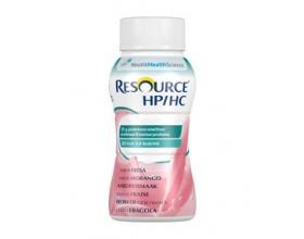Nestle Resource HP/HC Συμπλήρωμα διατροφής πλούσιο σε ενέργεια και πρωτεΐνες, περιέχει βιταμίνες και μέταλλα με γεύση φράουλα 200ml