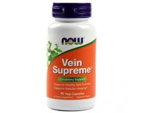 Now  Foods Vein Supreme, Συμπλήρωμα Διατροφής για την Καλή Υγεία των Φλεβών, 90 Vcaps