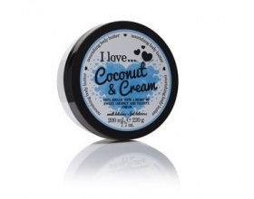 I Love Cosmetics Coconut & Cream nourishing body butter, Ενυδατικό βούτηρο σώματος, 200ml