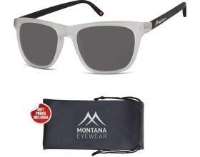 Montana Eye Wear Γυαλια Ηλίου Μ45D Γκρι ανοιχτο με μαύρο Βραχίονα 1 τεμάχιο