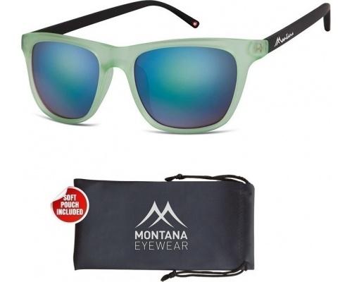 Montana Eye Wear Γυαλια Ηλίου Μ45 Πράσινο με μαύρο βραχίονα 1 τεμάχιο Ανδρικά