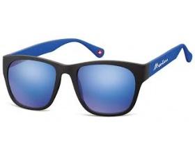 Montana Eye Wear Γυαλια Ηλίου Μ44E Mαύρο με μπλε βραχίονα 1 τεμάχιο