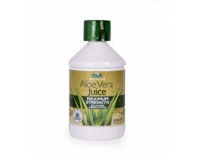 Iso Plus Optima Aloe Vera Juice Maximum Strength 500ml, 100%  Φυσικός Χυμός Αloe Vera