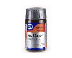 Quest Mega B Complex with vitamin C 1000mg, 60tabs